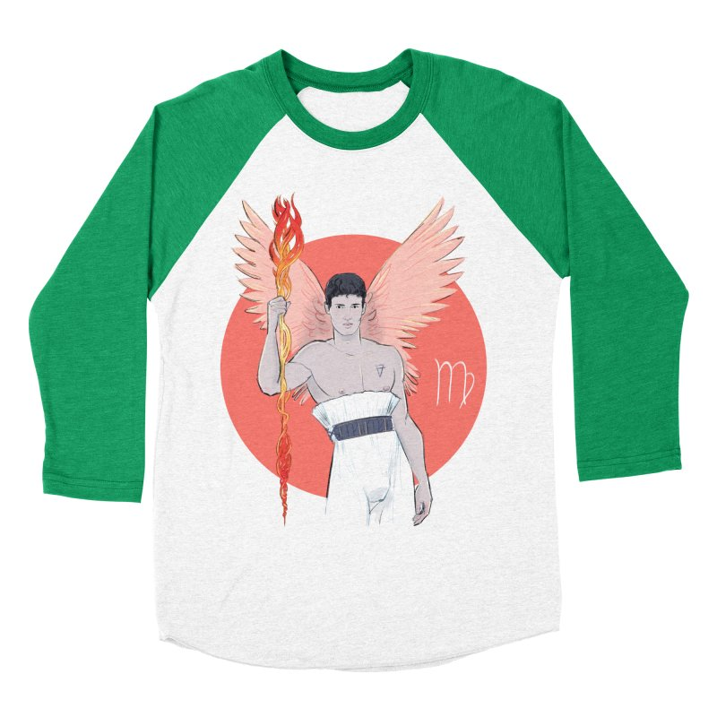Virgo Women's Baseball Triblend Longsleeve T-Shirt by Ego Rodriguez