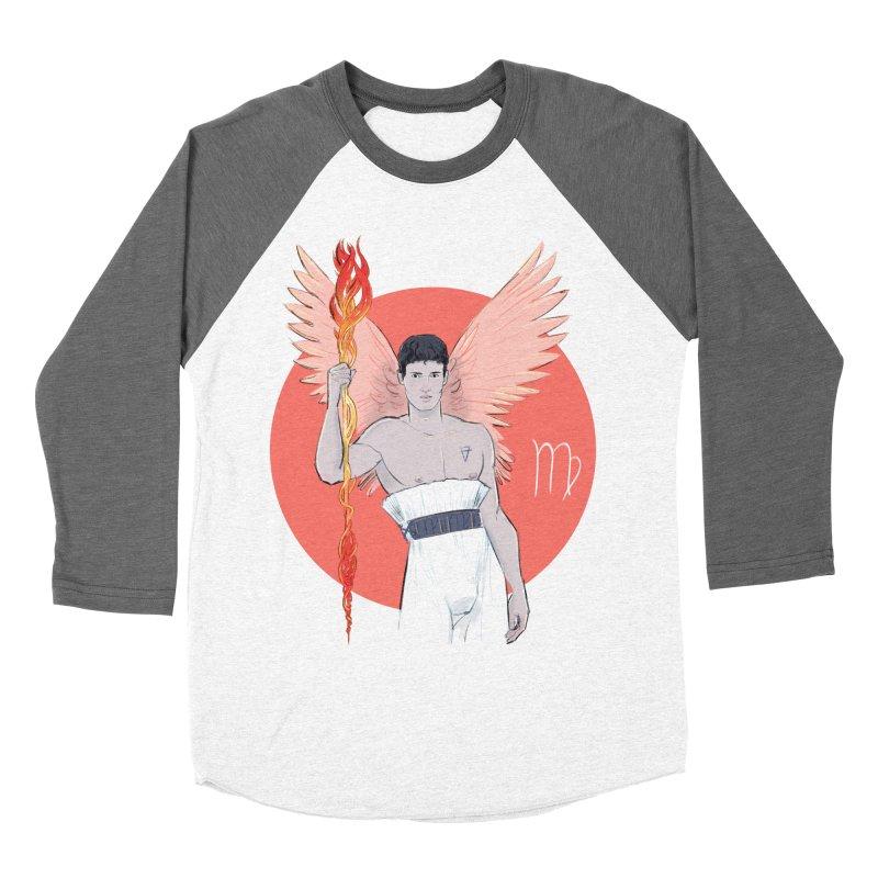 Virgo Men's Baseball Triblend Longsleeve T-Shirt by Ego Rodriguez