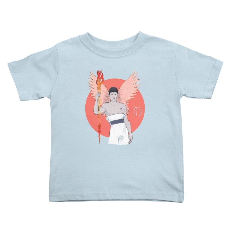 Virgo Kids Toddler T-Shirt by Ego Rodriguez