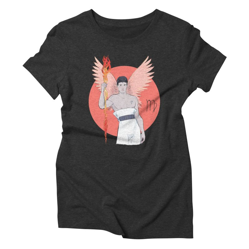 Virgo Women's Triblend T-Shirt by Ego Rodriguez