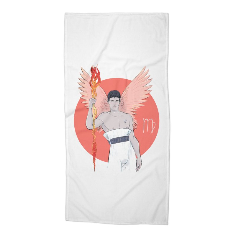 Virgo Accessories Beach Towel by Ego Rodriguez