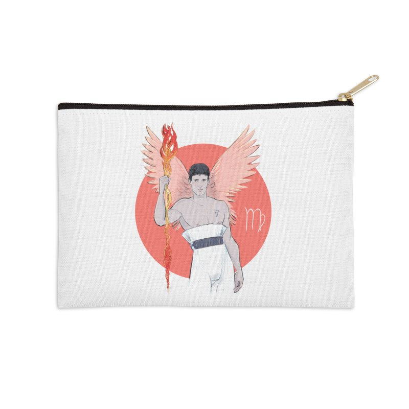 Virgo Accessories Zip Pouch by Ego Rodriguez