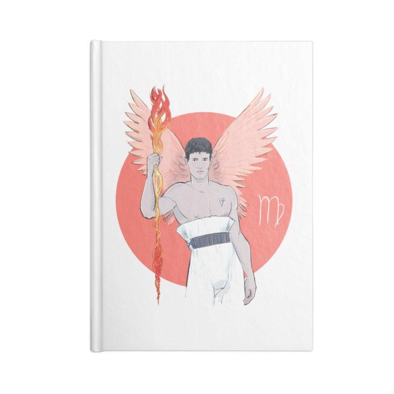 Virgo Accessories Blank Journal Notebook by Ego Rodriguez