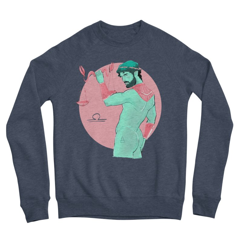 Libra Men's Sweatshirt by Ego Rodriguez