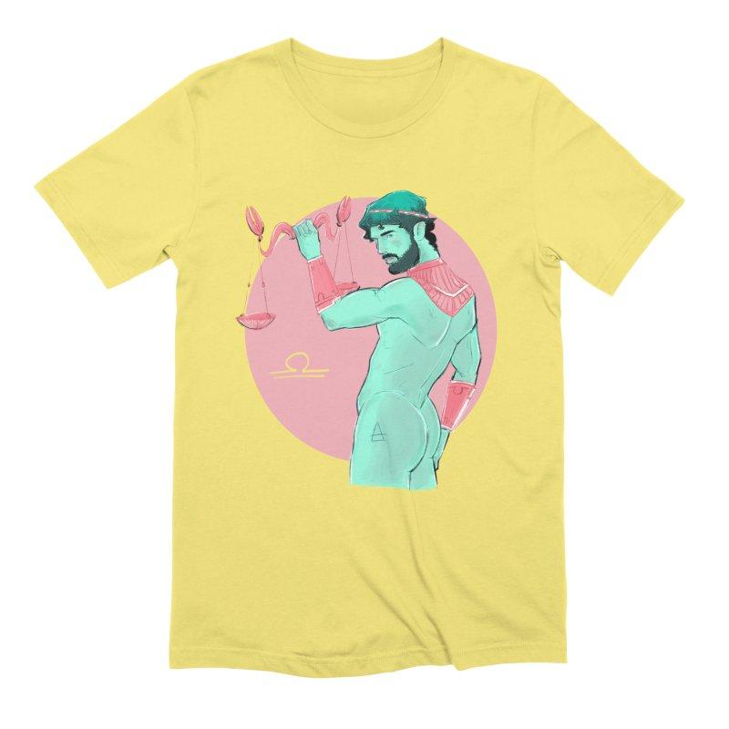 Libra Men's T-Shirt by Ego Rodriguez