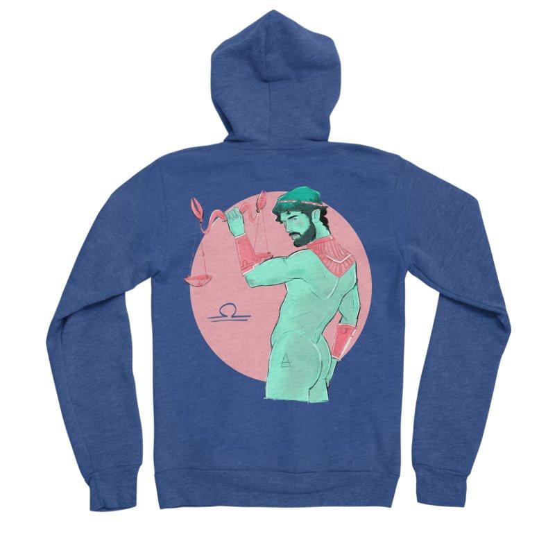 Libra Women's Sponge Fleece Zip-Up Hoody by Ego Rodriguez