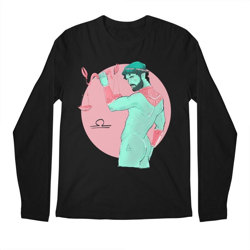 Libra Men's Regular Longsleeve T-Shirt by Ego Rodriguez