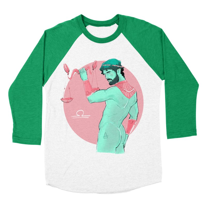 Libra Women's Baseball Triblend Longsleeve T-Shirt by Ego Rodriguez