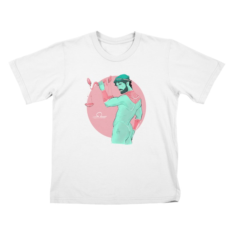 Libra Kids T-Shirt by Ego Rodriguez