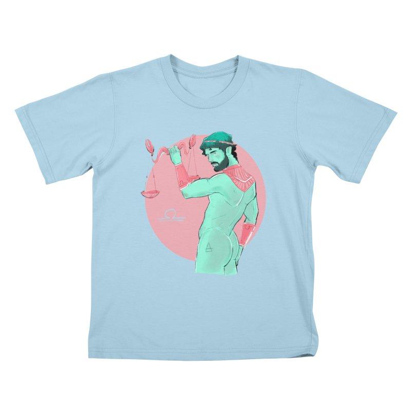 Libra Kids T-Shirt by Ego Rodriguez