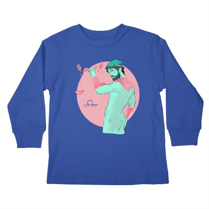 Libra Kids Longsleeve T-Shirt by Ego Rodriguez