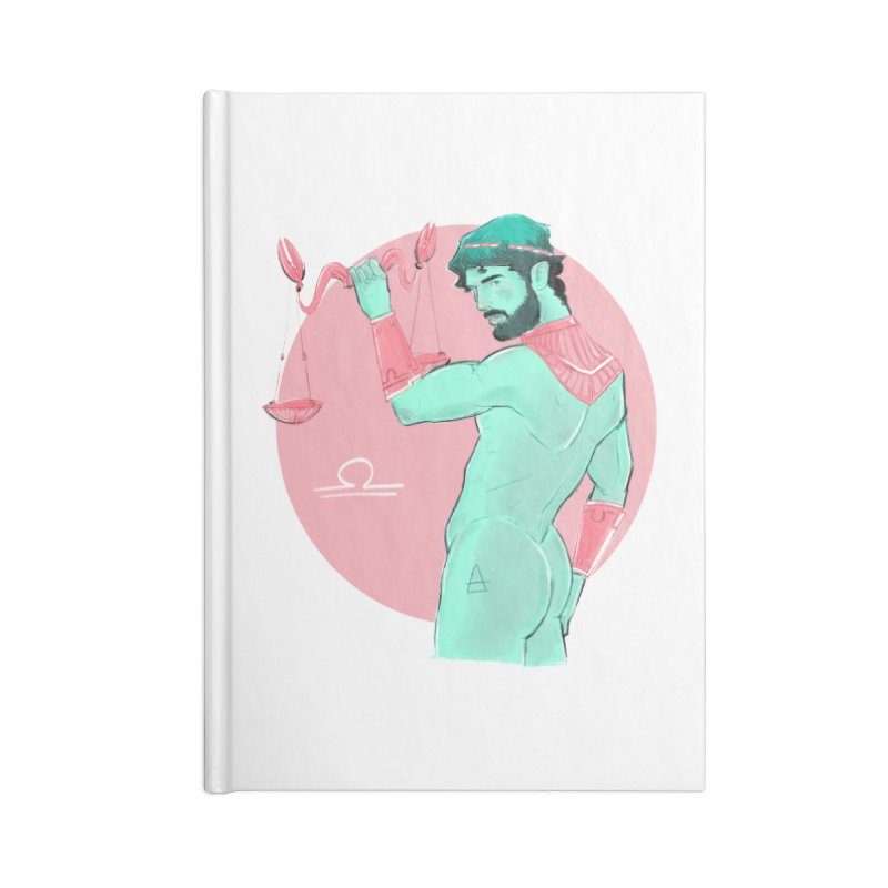 Libra Accessories Blank Journal Notebook by Ego Rodriguez