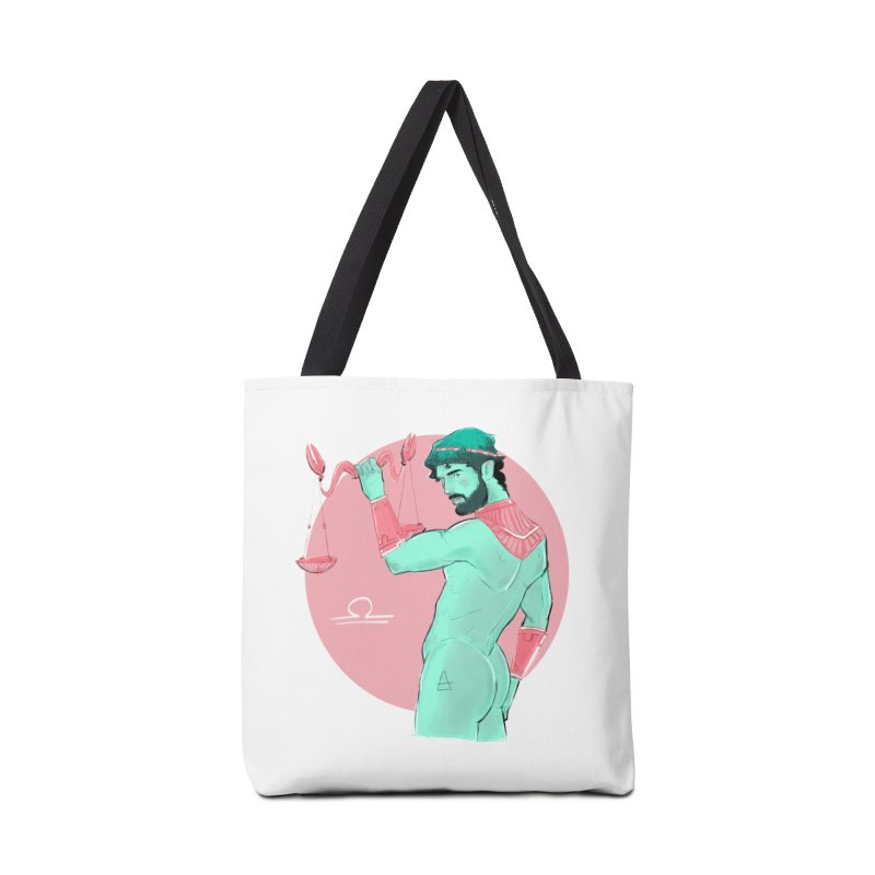 Libra Accessories Tote Bag Bag by Ego Rodriguez