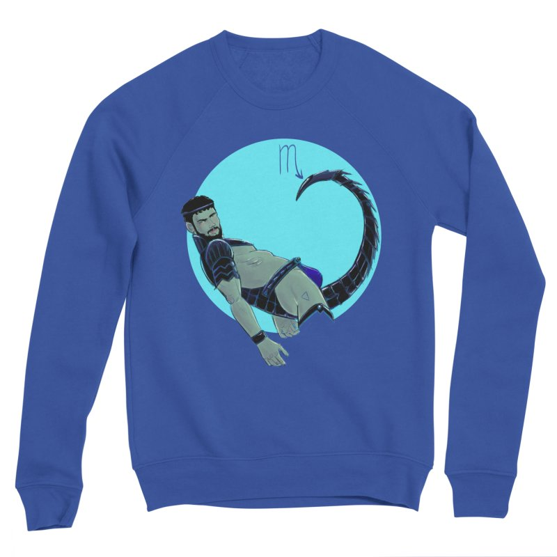 Scorpio Men's Sweatshirt by Ego Rodriguez