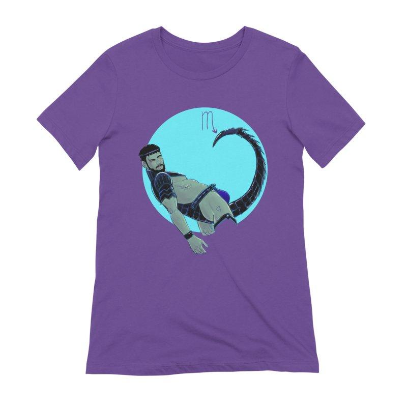 Scorpio Women's Extra Soft T-Shirt by Ego Rodriguez