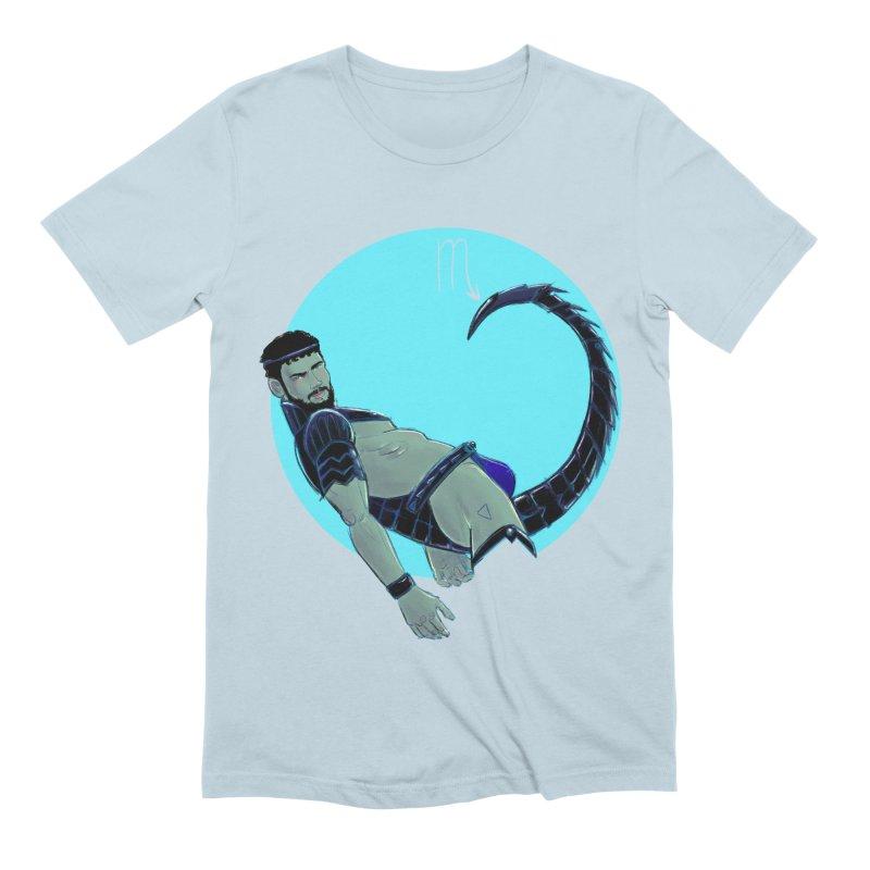 Scorpio Men's Extra Soft T-Shirt by Ego Rodriguez