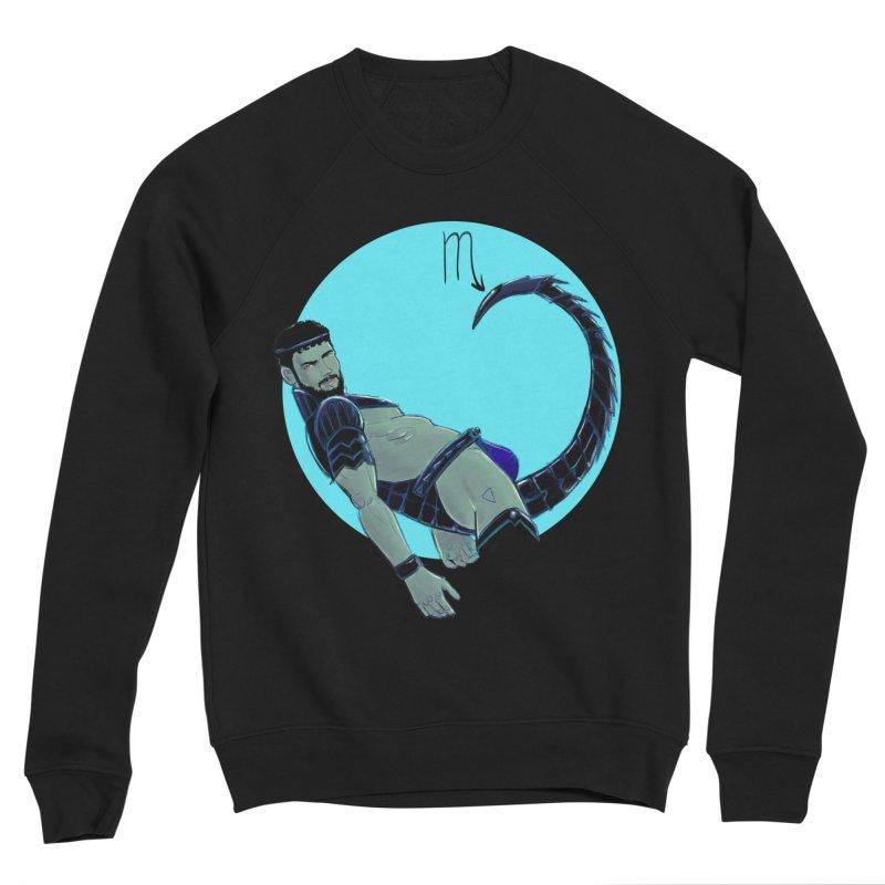 Scorpio Men's Sponge Fleece Sweatshirt by Ego Rodriguez