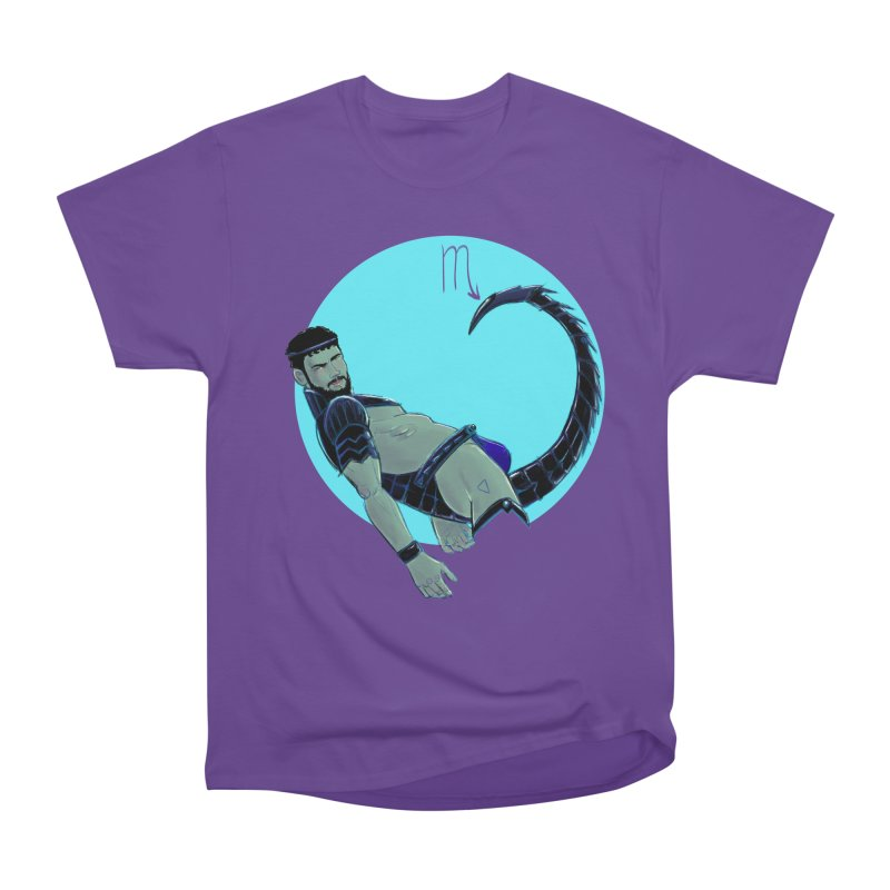 Scorpio Women's Heavyweight Unisex T-Shirt by Ego Rodriguez
