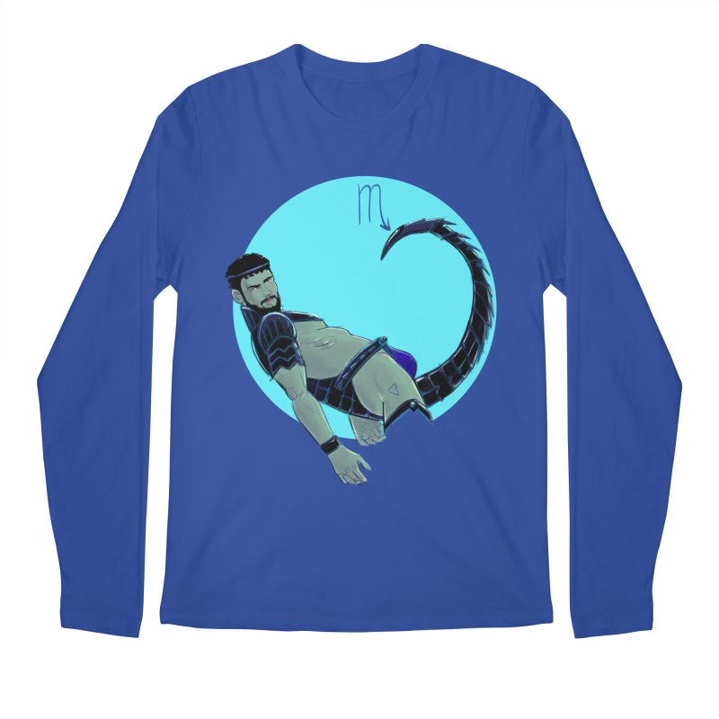 Scorpio Men's Regular Longsleeve T-Shirt by Ego Rodriguez