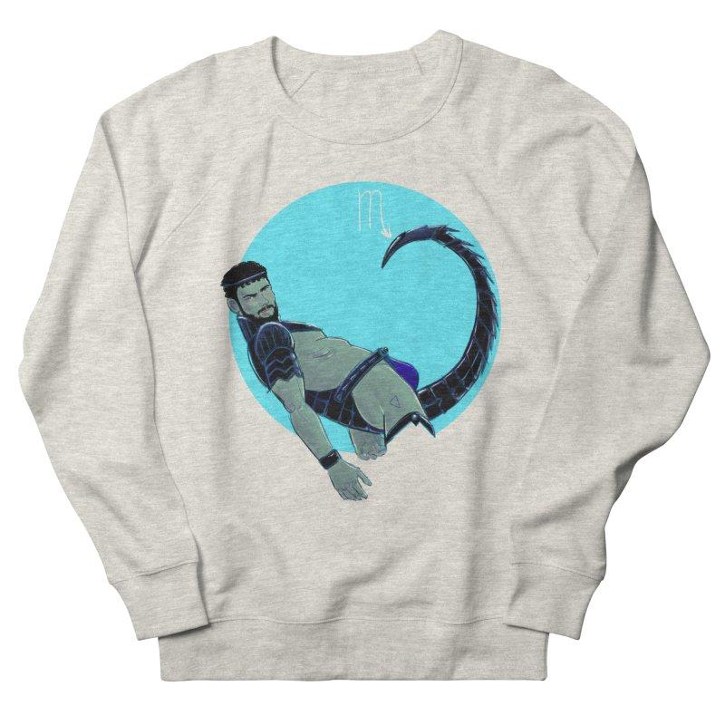 Scorpio Men's French Terry Sweatshirt by Ego Rodriguez