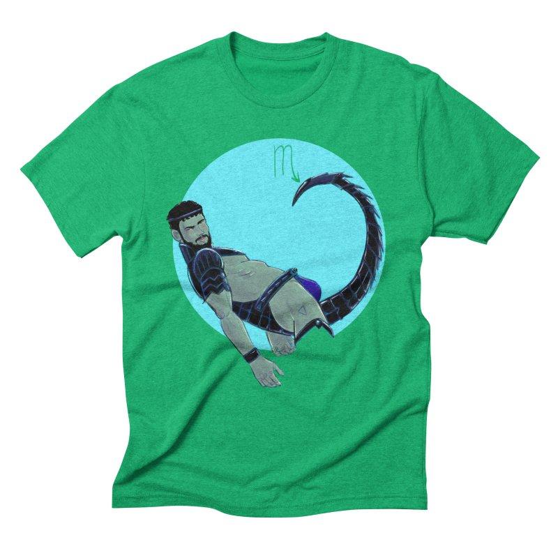 Scorpio Men's Triblend T-Shirt by Ego Rodriguez