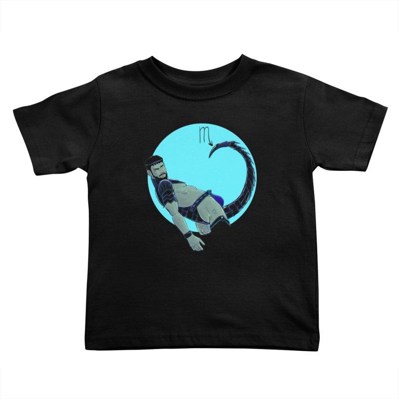 Scorpio Kids Toddler T-Shirt by Ego Rodriguez