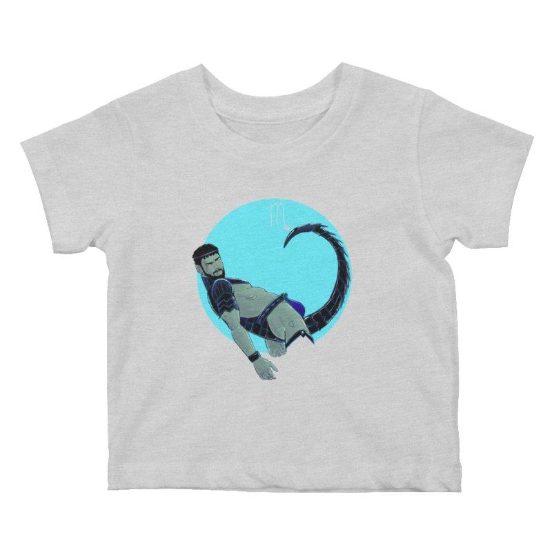 Scorpio Kids Baby T-Shirt by Ego Rodriguez