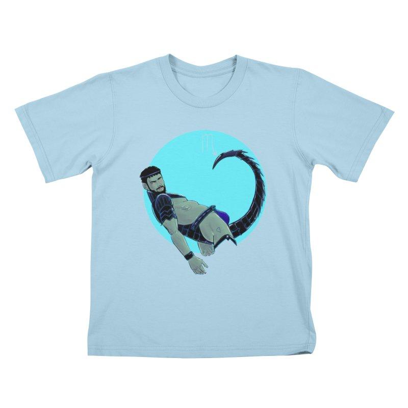 Scorpio Kids T-Shirt by Ego Rodriguez