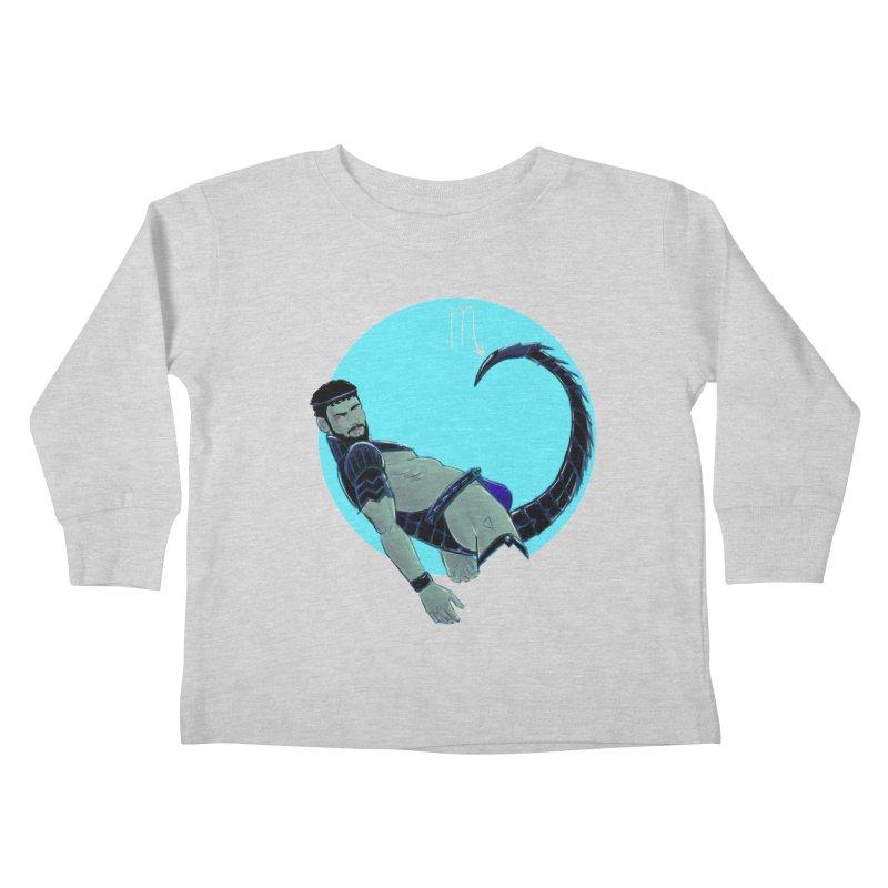 Scorpio Kids Toddler Longsleeve T-Shirt by Ego Rodriguez