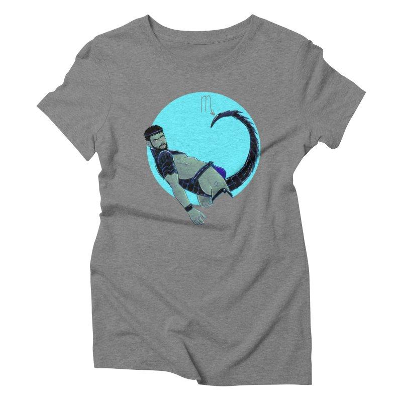 Scorpio Women's Triblend T-Shirt by Ego Rodriguez