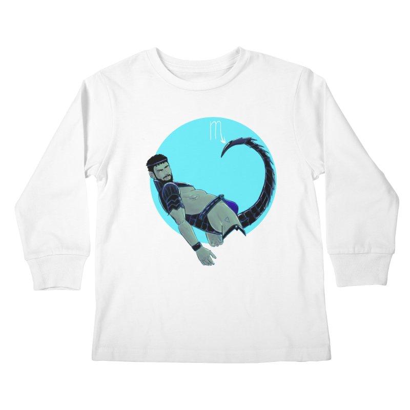 Scorpio Kids Longsleeve T-Shirt by Ego Rodriguez