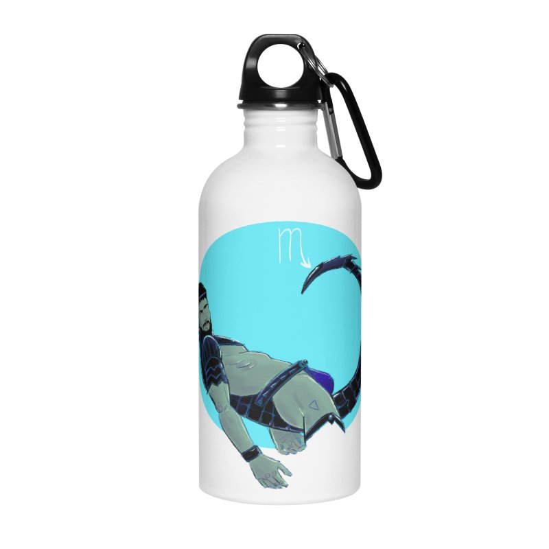 Scorpio Accessories Water Bottle by Ego Rodriguez