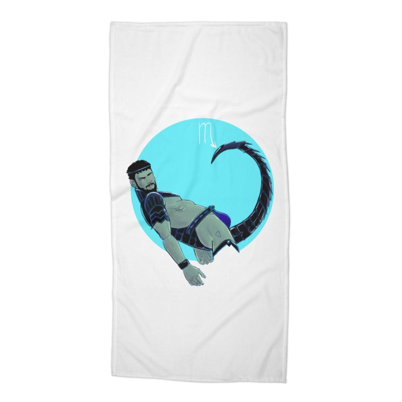 Scorpio Accessories Beach Towel by Ego Rodriguez