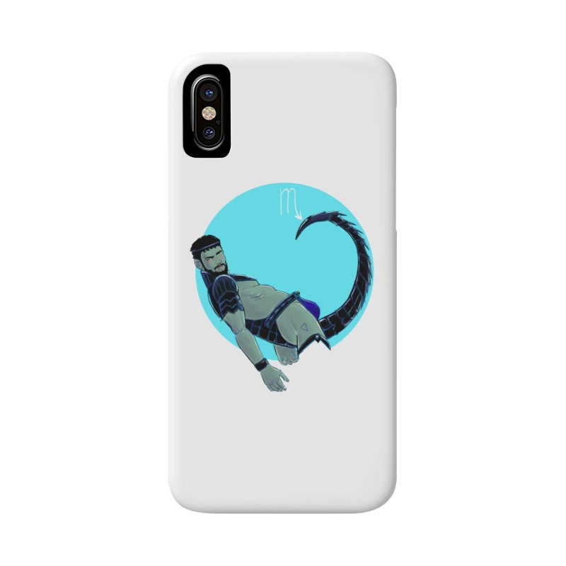 Scorpio Accessories Phone Case by Ego Rodriguez
