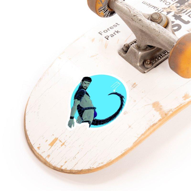 Scorpio Accessories Sticker by Ego Rodriguez