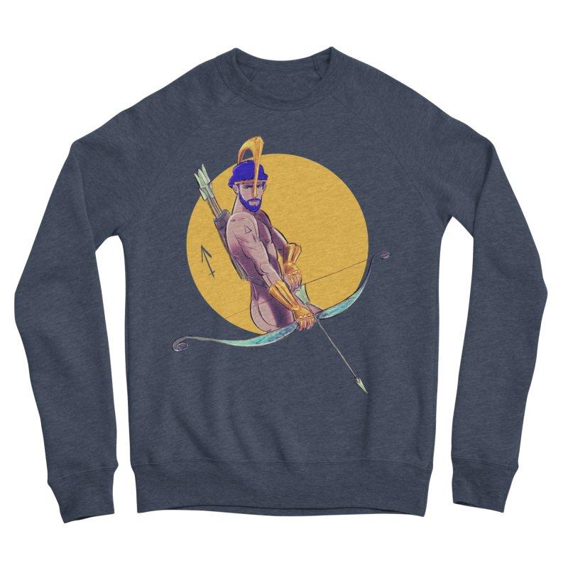 Sagittarius Men's Sponge Fleece Sweatshirt by Ego Rodriguez