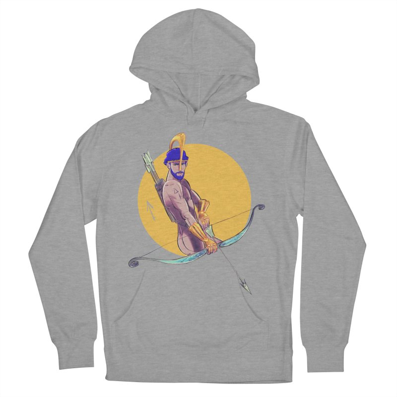 Sagittarius Men's French Terry Pullover Hoody by Ego Rodriguez