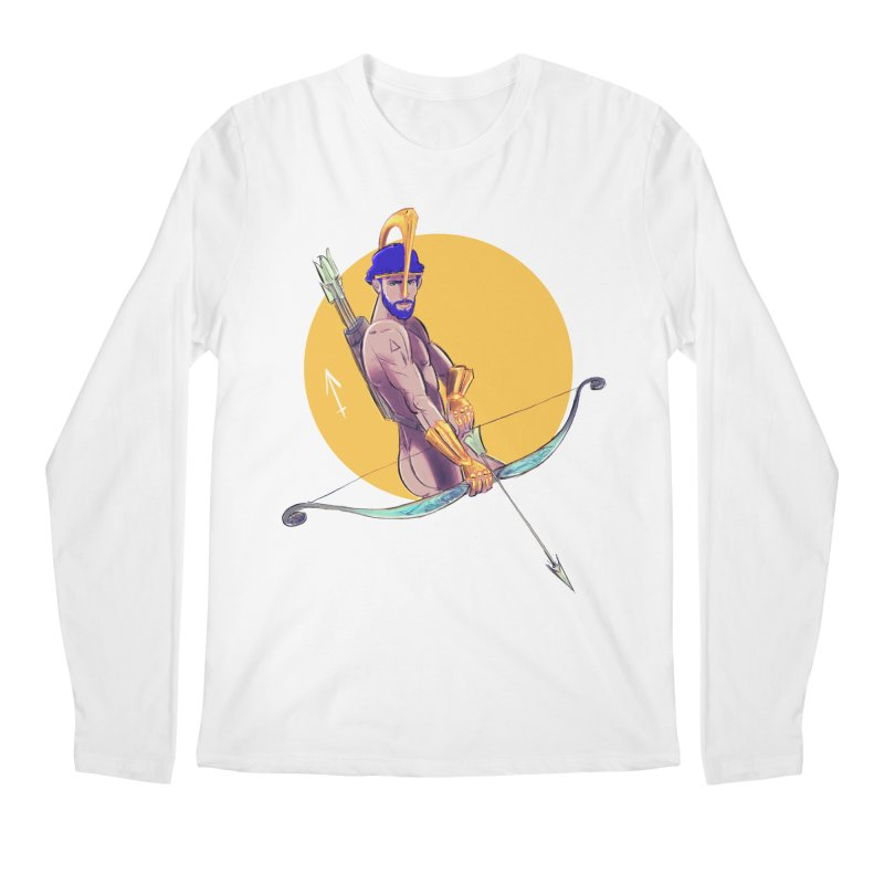 Sagittarius Men's Regular Longsleeve T-Shirt by Ego Rodriguez
