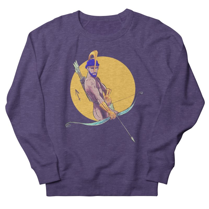 Sagittarius Women's French Terry Sweatshirt by Ego Rodriguez