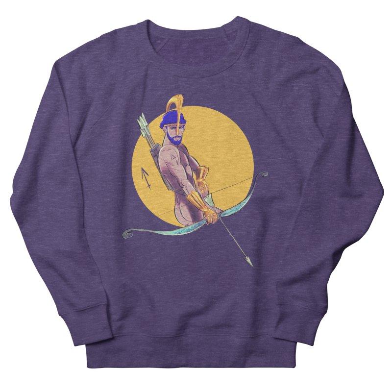 Sagittarius Men's French Terry Sweatshirt by Ego Rodriguez