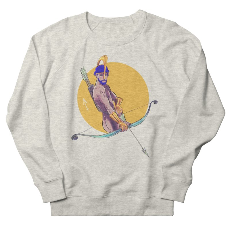 Sagittarius Men's French Terry Sweatshirt by Ego Rodriguez