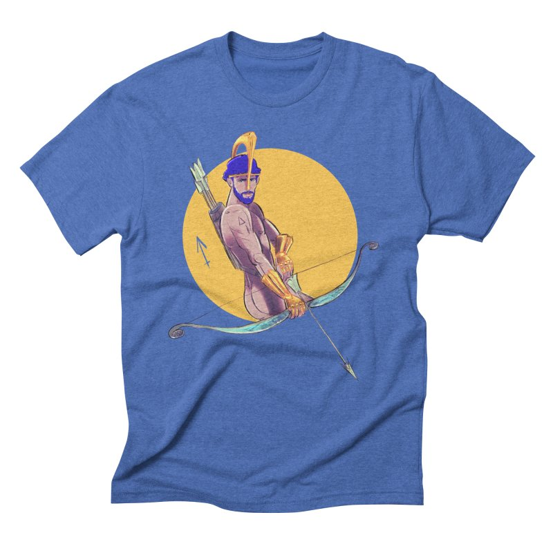 Sagittarius Men's Triblend T-Shirt by Ego Rodriguez
