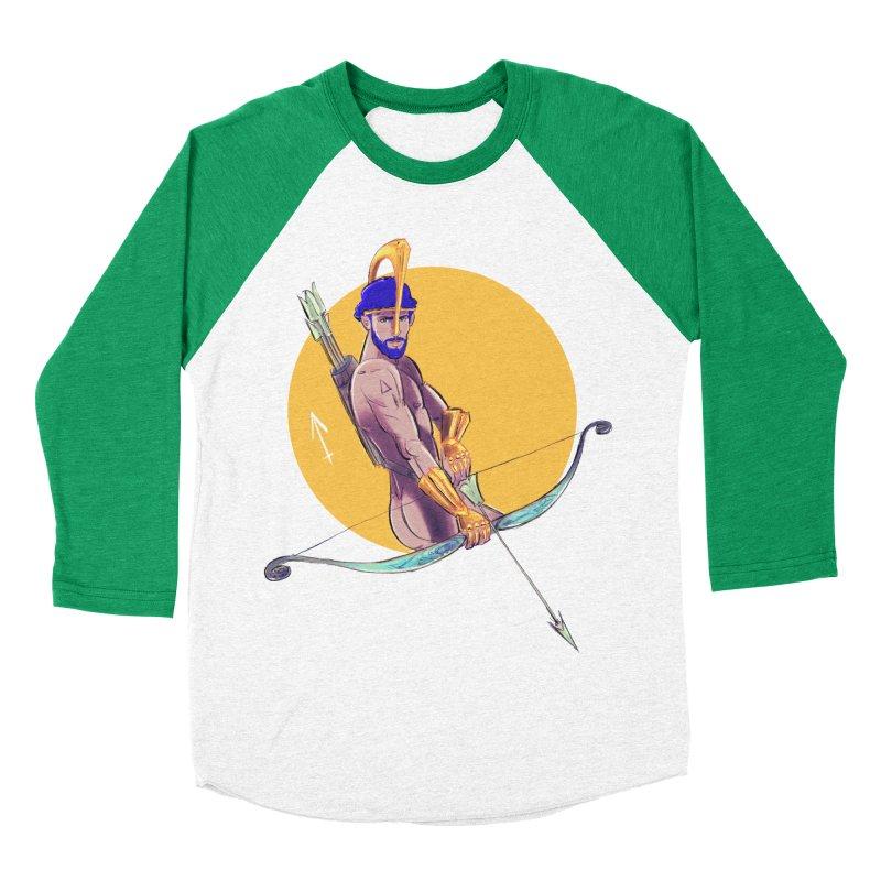 Sagittarius Women's Baseball Triblend Longsleeve T-Shirt by Ego Rodriguez