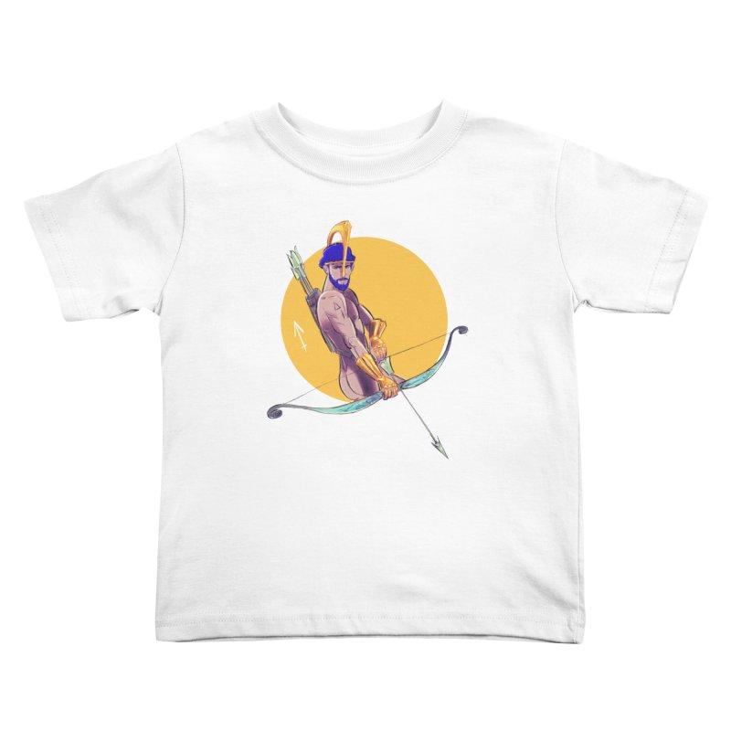 Sagittarius Kids Toddler T-Shirt by Ego Rodriguez