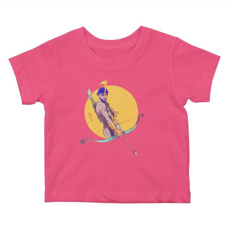 Sagittarius Kids Baby T-Shirt by Ego Rodriguez