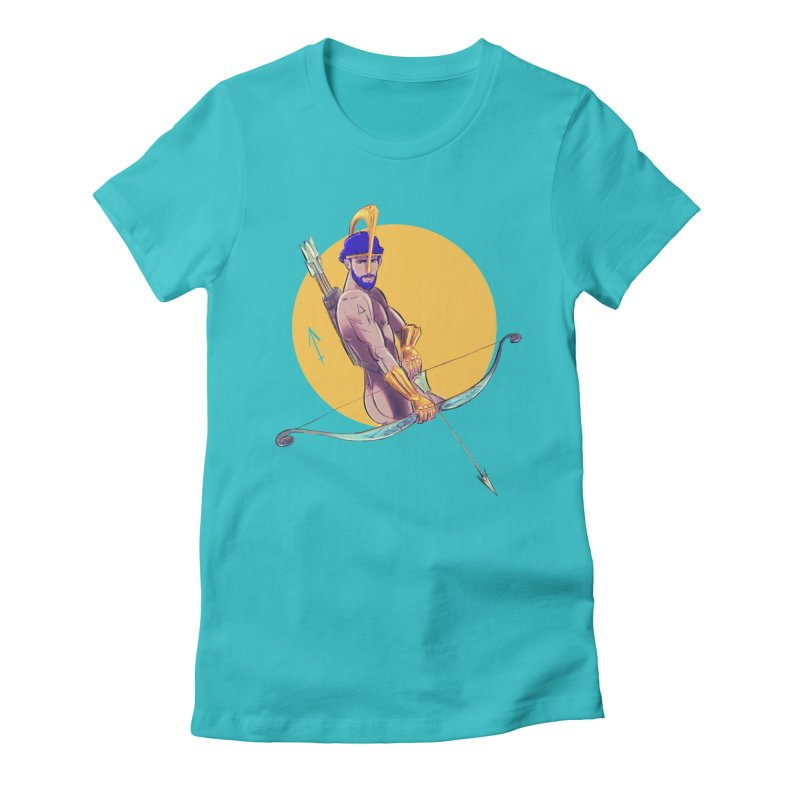 Sagittarius Women's Fitted T-Shirt by Ego Rodriguez