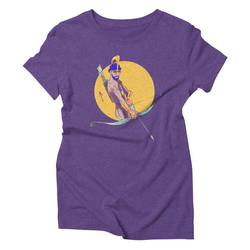 Sagittarius Women's Triblend T-Shirt by Ego Rodriguez