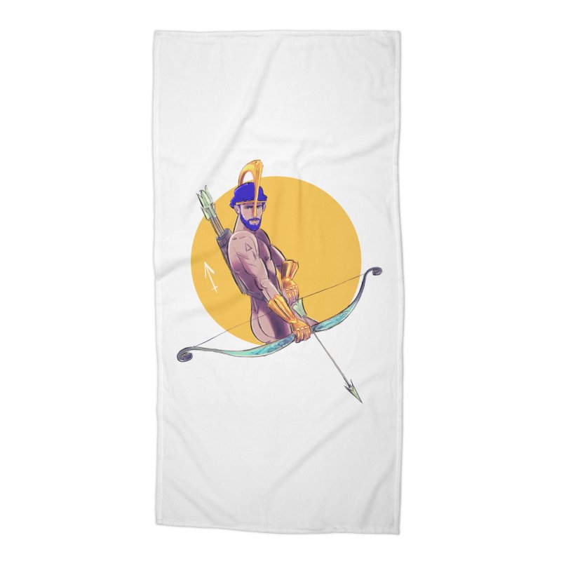 Sagittarius Accessories Beach Towel by Ego Rodriguez