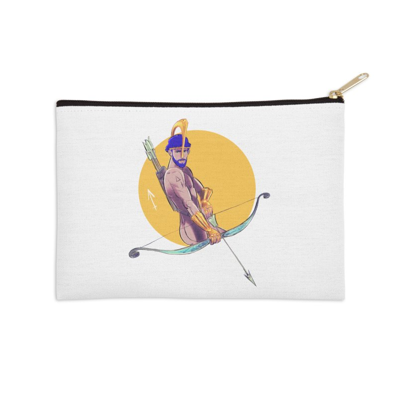 Sagittarius Accessories Zip Pouch by Ego Rodriguez