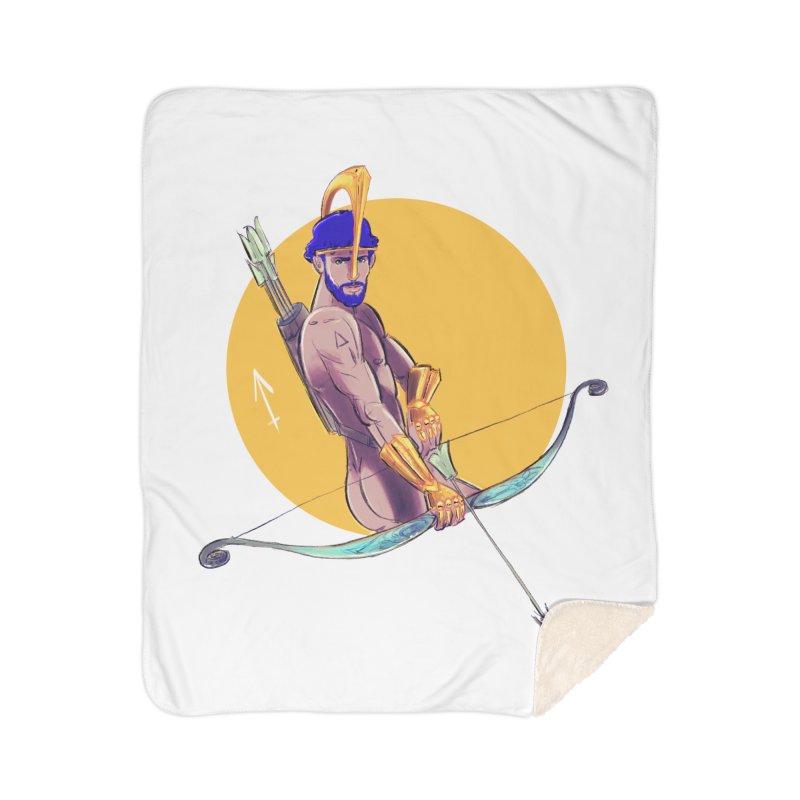 Sagittarius Home Sherpa Blanket Blanket by Ego Rodriguez